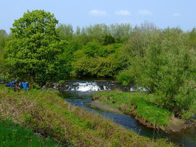 Weir on Black Cart Water