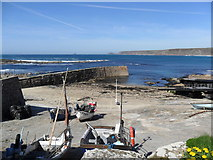 SW3526 : The harbour at Sennen Cove by nick macneill