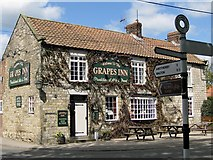 SE7576 : The Grapes, Great Habton by Pauline E