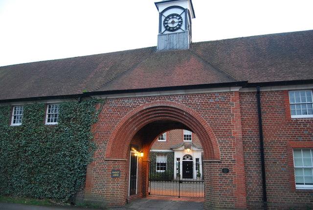 Entrance to Hadley Lodge, Monken Hadley