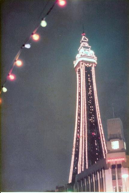 Blackpool Tower at night © John Jennings :: Geograph ...