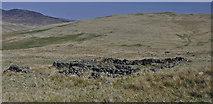 NN6914 : Sheep fank below Am Beannan by Iain A Robertson