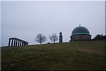 NT2674 : Monuments on Calton Hill by N Chadwick