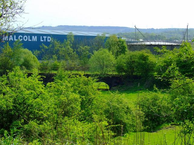 Former Lochwinnoch Loop railway line