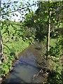 SK0041 : River Tean - upstream at Huntley by John M