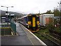 NN3825 : First Scotrail Train at Crianlarich Station by Rob Newman