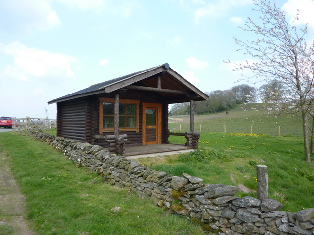 Building near Bigland Tarn