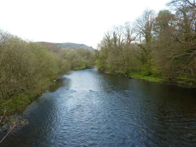 River Levens from Low Wood Bridge