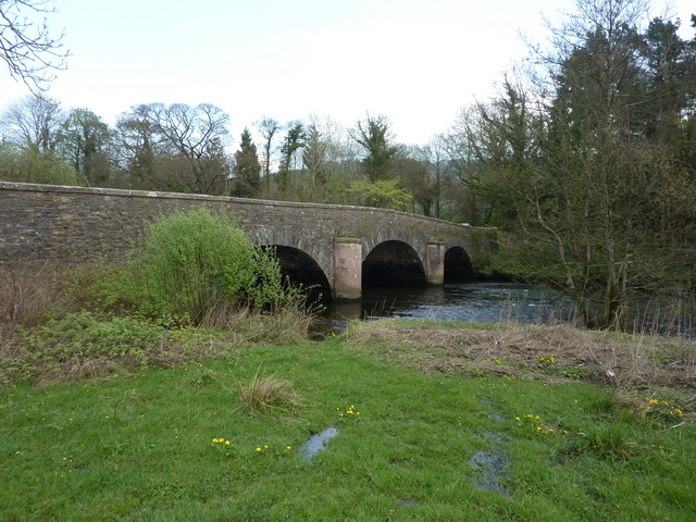 Low Wood Bridge over the River Levens