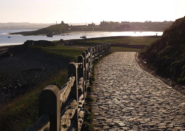 Walkway, Lindisfarne Castle