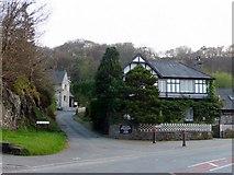 SH5638 : The Crescent, Porthmadog, Gwynedd by Christine Matthews