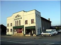 SH5639 : Coliseum Cinema, Porthmadog, Gwynedd by Christine Matthews
