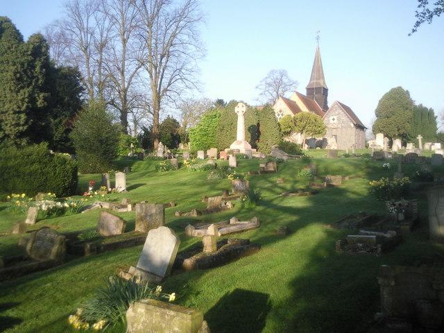 All Saints Churchyard, Foots Cray
