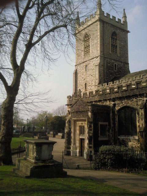 St Dunstan's Church, Stepney