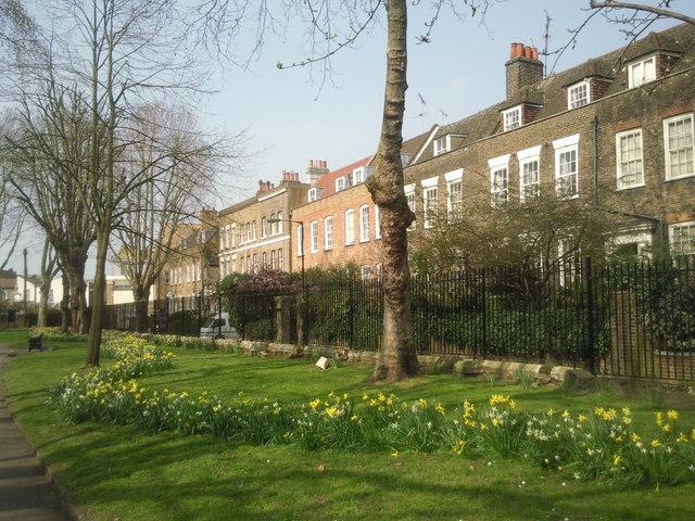 Stepney Green in spring