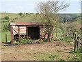 SO2477 : Railway van shed by Jonathan Wilkins