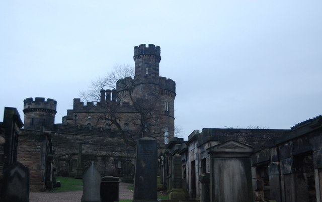 Former Governor's House and Calton Old Burial Ground