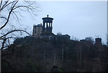 NT2674 : Dugald Stewart Monument, Calton Hill by N Chadwick