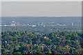 TQ2741 : Gatwick Airport from Reigate Hill by Ian Capper