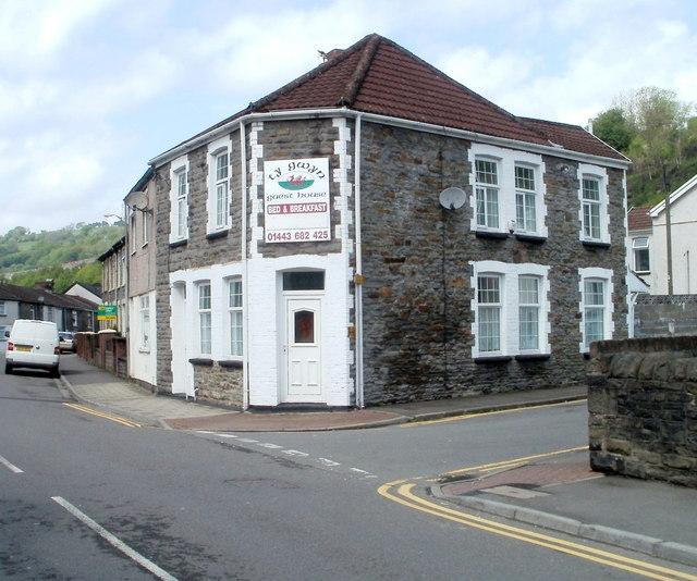 Ty Gwyn guest house, Trehafod
