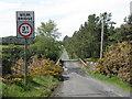NT3054 : Weak bridge at Gladhouse by M J Richardson