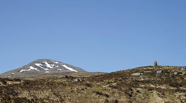 The Fleming Cairn on Rannoch Moor