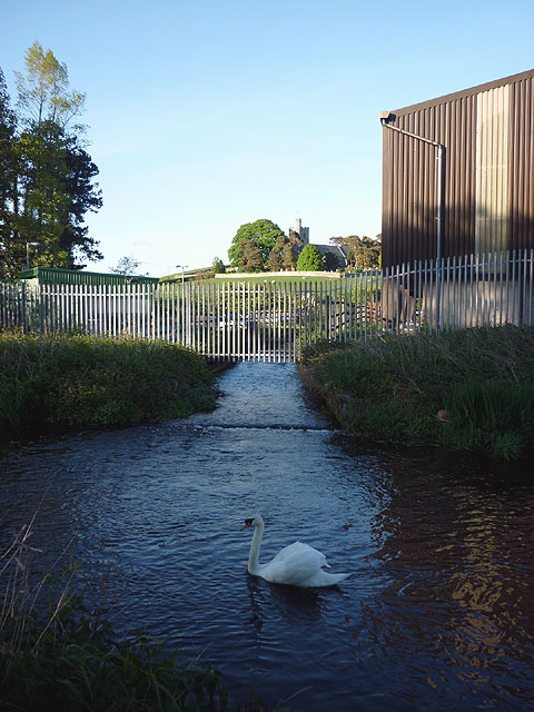 Canal Feeder, Lancaster Canal at Crooklands