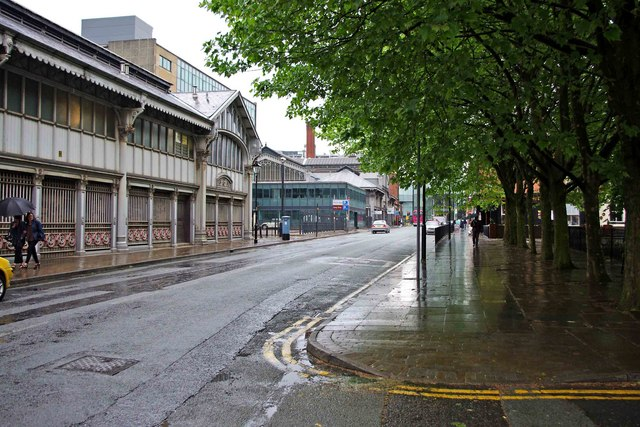 Liverpool Road (A6143), Castlefield, Manchester