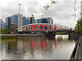 SJ8196 : Trafford Road Bridge, Manchester Ship Canal by David Dixon