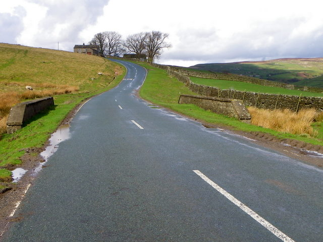 Minor road near Reeth