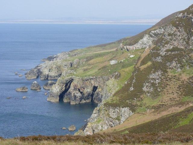 Natural Arch on the Oa peninsula, Islay