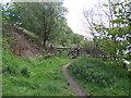SD7316 : Footpath closed by Philip Platt