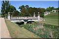 SK9226 : The ornamental bridge, Easton Walled Gardens by Kate Jewell