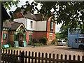 TQ3635 : Kingscote Station entrance by Paul Gillett