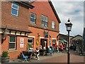 TQ4023 : Cafe on Sheffield Park Station by Paul Gillett