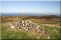 NM8127 : The summit cairn of Carn Breugach by Walter Baxter