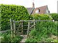 ST9429 : Kissing gate, Tisbury by Maigheach-gheal