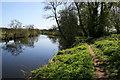 SJ4160 : The River Dee near Eaton Hall by Jeff Buck