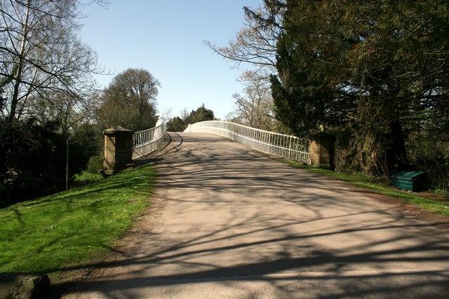 Aldford Iron Bridge