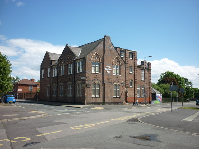The John Archer Hall on Windsor Street, Toxteth