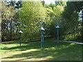 NS3882 : Public artwork at Lomond Shores by Lairich Rig