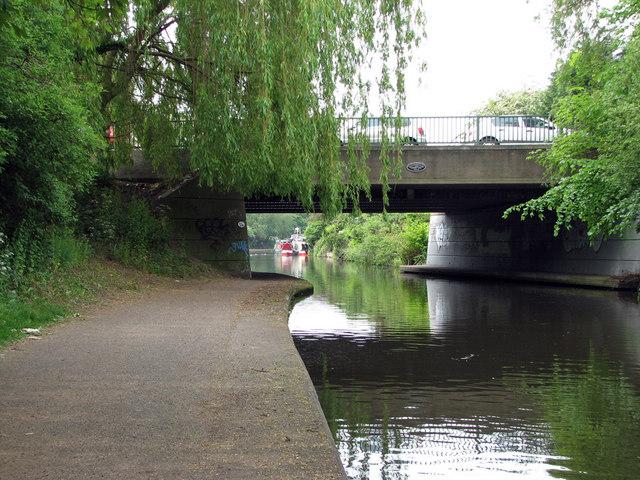 Nottingham Canal: Lenton Lane Bridge