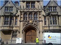 SP5106 : Entrance to Brasenose College by Steven Haslington