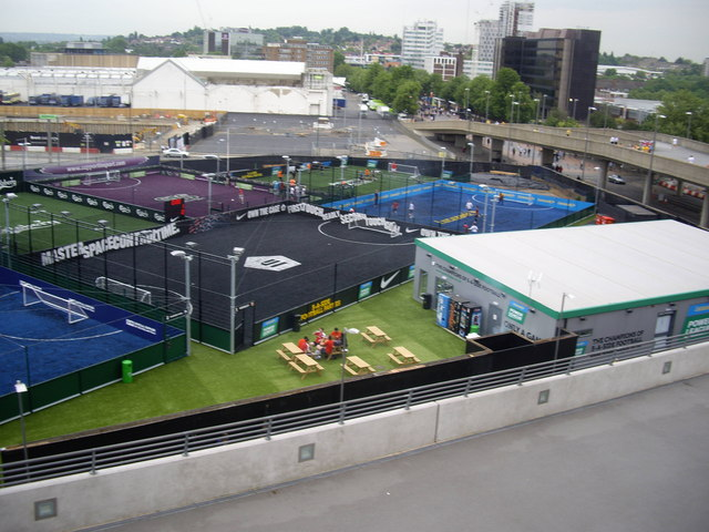 Five-a-Side football pitches, Wembley