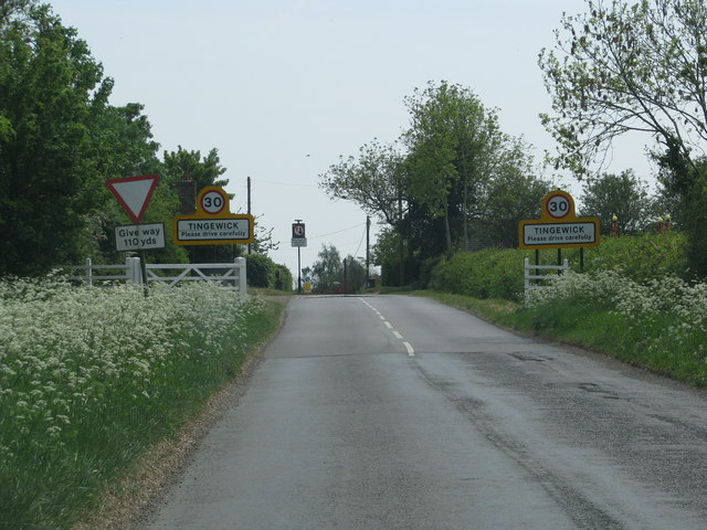Approach to Tingewick