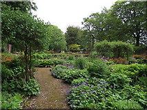 SD6911 : Walled garden, Moss Bank Park by Philip Platt