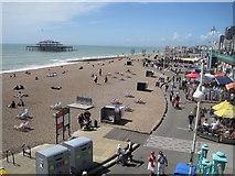 TQ3003 : Brighton Beach by Julian P Guffogg