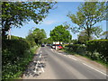 SP9309 : Chicane at entry to Wigginton by David Hawgood