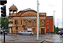 SJ8298 : New Harvest Christian Fellowship (former Salford Cinema), 194 Chapel Street, Salford by P L Chadwick