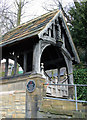 NZ1665 : Lych gate at Newburn Church by Stuart Logan